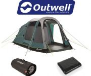 Outwell Rosedale 4PA Tent 2020 (Inc: Carpet + Footprint)